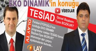 TESİAD Genel Başkanı İlyas BOZKURT, Olay TV'nin Eko Dinamik programına konuk oldu